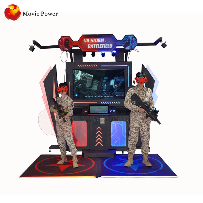Shopping Mall Multiplayer Gatling VR Shooting Simulator 9d Game machine